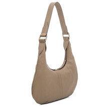 2215 Bergamo Small Underarm Shoulder Bag in Stone