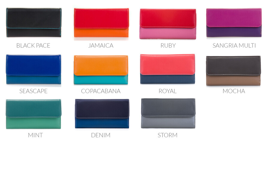 cc71ac52cca2a Multicoloured italian leather wallets